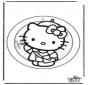 Decorazione finestra Hello Kitty