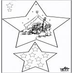 Disegni da colorare Natale - Decorazioni di Natale - Bibbia 3