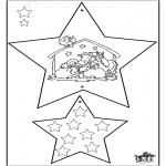 Disegni da colorare Natale - Decorazioni di Natale - Bibbia 4
