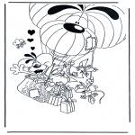 Personaggi di fumetti - Diddl 11