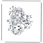 Personaggi di fumetti - Diddl 32
