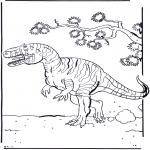 Disegni da colorare Animali - Dinosauro 2