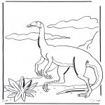 Disegni da colorare Animali - Dinosauro 3