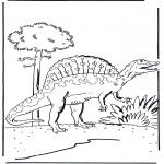 Disegni da colorare Animali - Dinosauro 5