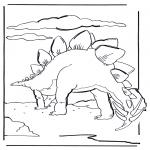 Disegni da colorare Animali - Dinosauro 6