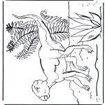 Disegni da colorare Animali - Dinosauro