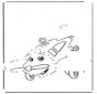 Disegna seguendo i numeri ' aereo