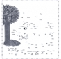 Disegna seguendo i numeri - Albero