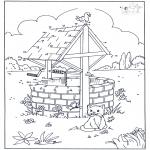 Lavori manuali - Disegna seguendo i numeri - Gatto