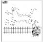 Disegna seguendo i numeri - Giardino zoologico