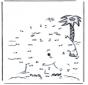 Disegna seguendo i numeri isola 2