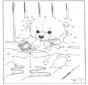 Disegna seguendo i numeri - orso 1
