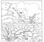 Disegna seguendo i numeri - orso 2