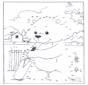 Disegna seguendo i numeri - orso 3