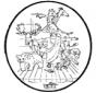 Disegno biblico da bucherellare 2