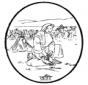 Disegno biblico da bucherellare 4