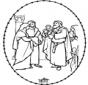 Disegno biblico da ricamare 1
