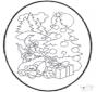 Disegno da bucherellare ' Natale 12