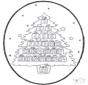Disegno da bucherellare ' Natale 20