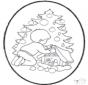 Disegno da bucherellare ' Natale 22
