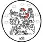 Disegno da bucherellare ' Natale 24