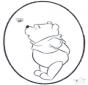Disegno da bucherellare ' Pooh 3