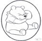 Disegno da bucherellare ' Winnie the Pooh 1