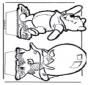 Disegno da bucherellare ' Winnie the Pooh 5