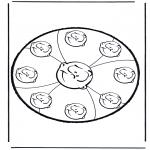 Disegni da bucherellare - Disegno da bucherellare 10