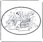 Disegno da bucherellare 101 Dalmati 1