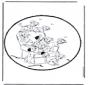 Disegno da bucherellare 101 Dalmati 2