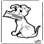Disegni da bucherellare - Disegno da bucherellare 101 Dalmati 4