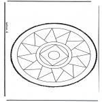Disegni da bucherellare - Disegno da bucherellare 13