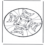 Disegni da bucherellare - Disegno da bucherellare 24