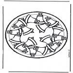 Disegni da bucherellare - Disegno da bucherellare 26