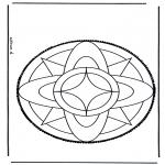 Disegni da bucherellare - Disegno da bucherellare 3