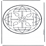Disegni da bucherellare - Disegno da bucherellare 44
