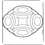 Disegni da bucherellare - Disegno da bucherellare 45