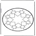 Disegni da bucherellare - Disegno da bucherellare 46