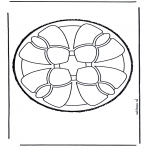 Disegni da bucherellare - Disegno da bucherellare 49