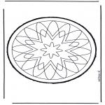 Disegni da bucherellare - Disegno da bucherellare 58
