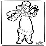 Disegni da bucherellare - Disegno da bucherellare Avatar