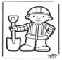 Disegno da bucherellare - Bob Aggiustatutto 3
