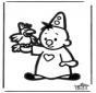 Disegno da bucherellare - Bumba 1