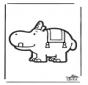 Disegno da bucherellare - Bumba 3