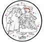 Disegno da bucherellare - Carnevale