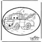 Disegno da bucherellare Cars