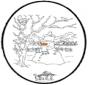 Disegno da bucherellare - inverno 7
