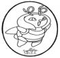 Disegno da bucherellare Pokemon 1