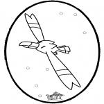 Disegni da bucherellare - Disegno da bucherellare Pokemon 3